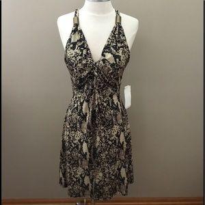 New Kenneth Cole Animal Print Sleeveless Dress